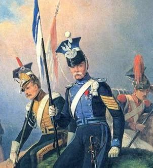 Улани Варшавського герцогства в конфедератках