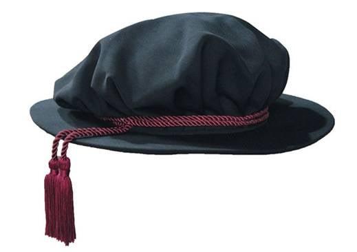 Бонет Тюдора (шапочка Джона Нокса) - класична докторська шапочка університетів Великобританії